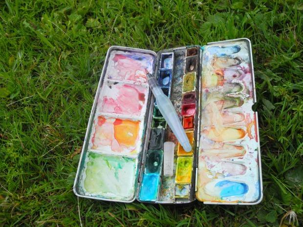 Freilichtmalerei für introvertierte Angsthäschen - Tipps, wie du dich raus traust! | Gesche Santen