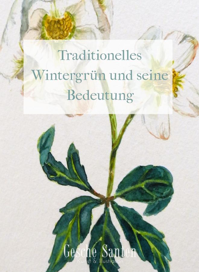 Traditionelles Wintergrün und seine Bedeutung  Gesche Santen Blog