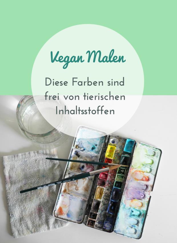 Vegan malen – Diese Aquarellfarben sind frei von tierischen Inhaltsstoffen ~ vegan art supplies   GescheSanten