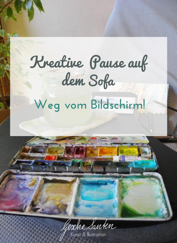 Fünf Dinge, die meine Kreativität fördern | Gesche Santen Blog