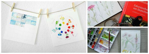5 kreative ideen fr dein natur skizzenbuch free pdf gesche santen blog - Kreative Ideen