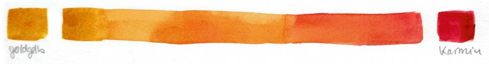 Aquarell Farben Mischen