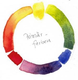 Prim Rfarben stimmungsvolle aquarelle durch eine begrenzten farbpalette meine liebsten farbtöne im herbst