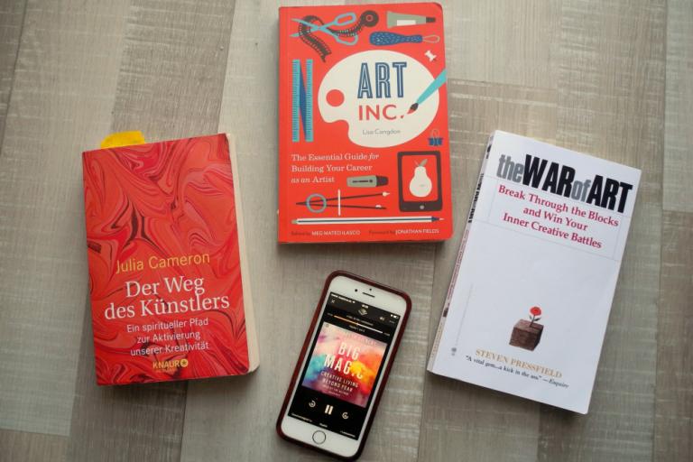 Lesetipps für den Winter – Bücher, für Künstler, Kreative und die, die es sein wollen
