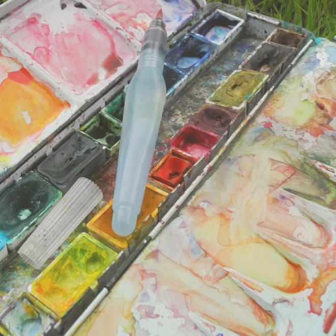 Freilichtmalerei für introvertierte Angsthäschen – Tipps, wie du dich raus traust!
