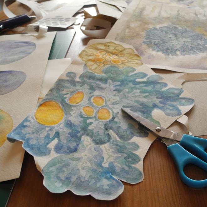 Resteverarbeitung – 5 Ideen was Du mit alten Bildern und Papierschnipseln machen kannst