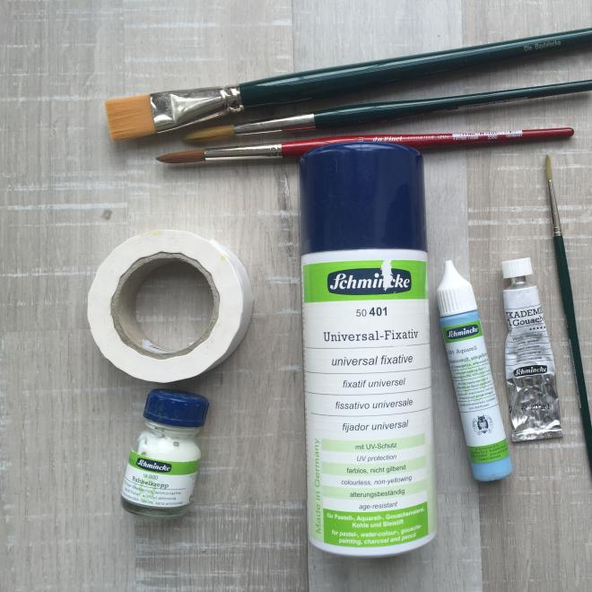 Vegan malen – Aquarellzubehör und Malhilfsmittel