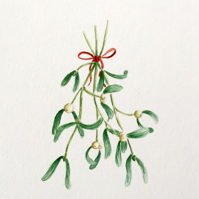 Traditionelles Wintergrün und seine Bedeutung