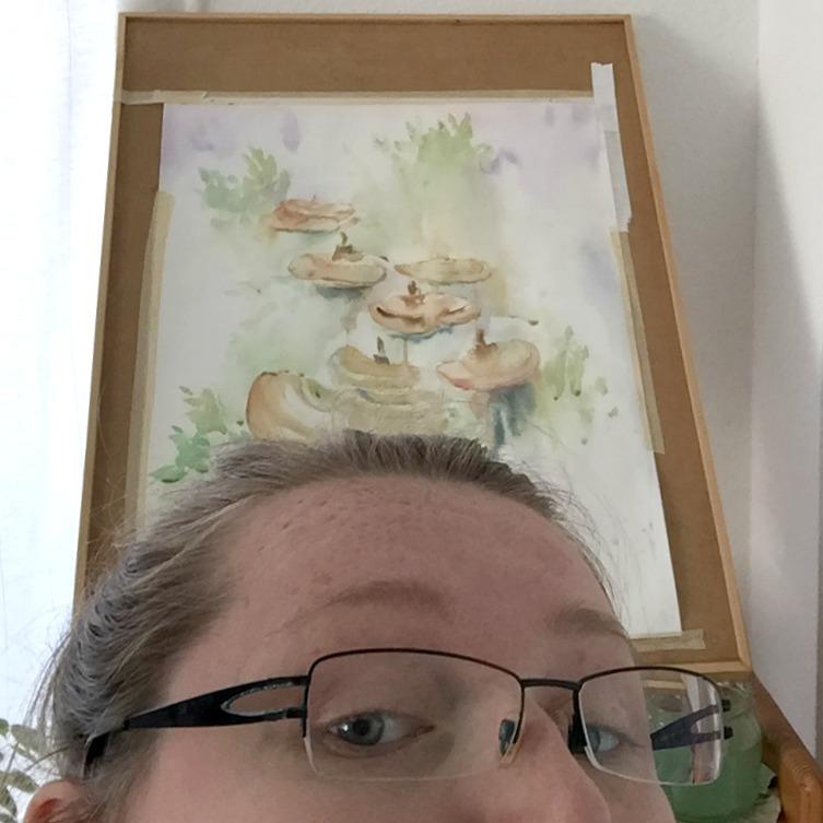 Ich habe ein hässliches Bild gemalt – und es ist okay Eine emotionale Reise durch meinen Malprozess