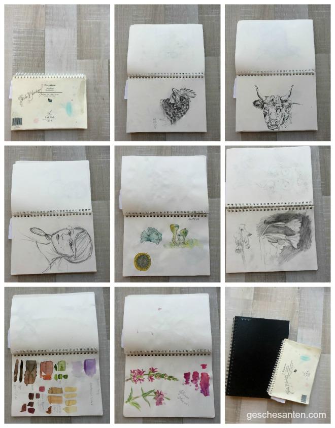 Skizzenbuchwahl - Welches passt zu Dir?