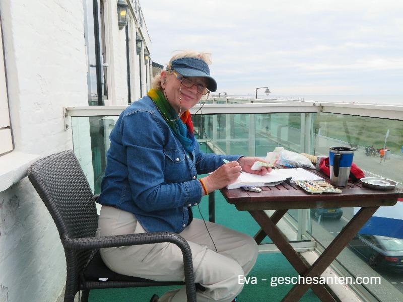 Naturskizzenbuch - nature journaling - Eva gibt Einblicke in ihr Skizzenbuch